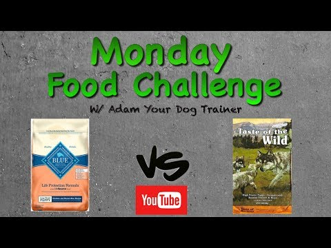 Blue Buffalo Vs Taste Of The Wild : Monday Food Mash-up