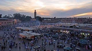 Highlights Marrakech - Palais de la Bahdi & Place Djemaa el Fna