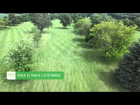 Sioux Golf and Country Club - Alton, IA - Flyover