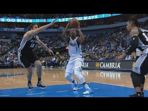 LaMarcus Aldridge Season High 32 Pts! Dennis Smith Jr 27 Pts! Spurs vs Mavs 2017-18 Season