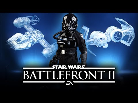 Star Wars Battlefront 2 - All Classes in Starfighter Assault! Space Battles Multiplayer Gameplay!