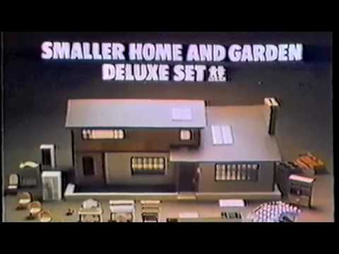 Smaller Home Garden Dollhouse 1980 Youtube