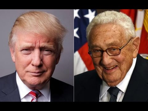 What Is Donald Trump Doing With Henry Kissinger