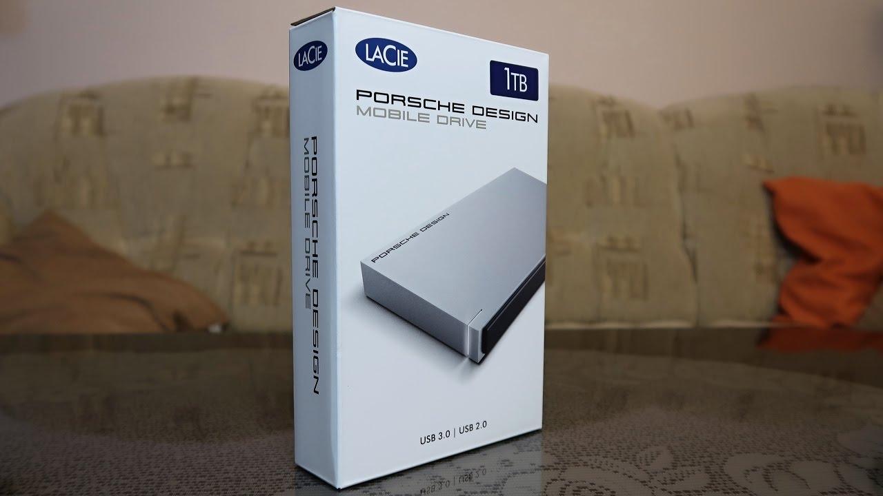lacie 2 5 porsche design p 39 9223 1tb rozbalen unboxing. Black Bedroom Furniture Sets. Home Design Ideas