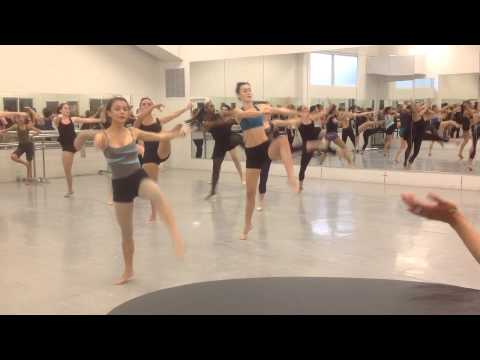 Disney's The Lion King Female Dance Auditions in Hawai'i part 2