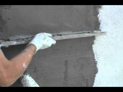 How To Repair Stucco - YouTube