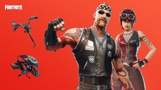 *NEW* THE BIKER BRIGADE SKIN IS OUT / FORTNITE LIVE STREAM / Live