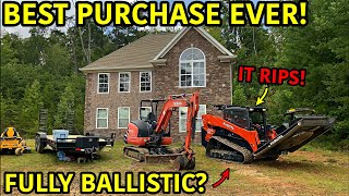 We Bought A Bulletproof KUBOTA Skid Steer!!!
