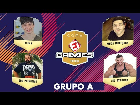 Aruan Felix x Muca Muriçoca e Edu Primitivo x Léo Stronda - Copa EI GAMES de FIFA 18!
