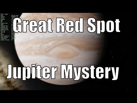 The Mysterious Heat of Great Red Spot on Jupiter - Space Engine