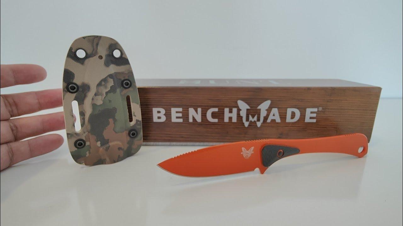 Download มีด Benchmade Attitude 15200 ORG, Small Back up Fixed Blade มันคือมีดใบตาย มีดพก มีดสำรอง