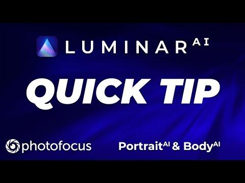 Luminar AI Quick Tip: Portrait AI
