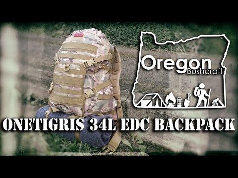OneTigris 34L Tactical Assault EDC Backpack Initial Impressions