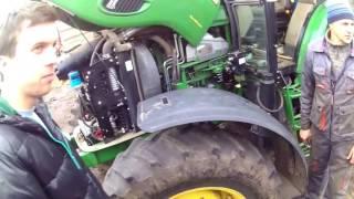 Установка Расходомер на трактор John Deere и Deutz Fahr bi 820 trek bitrek