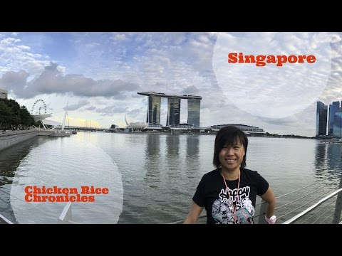 Singapore Part 1 - Marina Bay Sands | 4K (Ultra HD) Travel Vlog | Chicken Rice Chronicles
