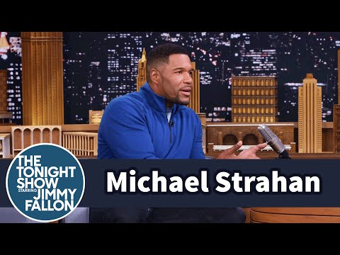 Michael Strahan Used to Cry During Football Games