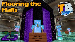 Time for Some Flooring and some Armor Stands - Truly Bedrock S2E25