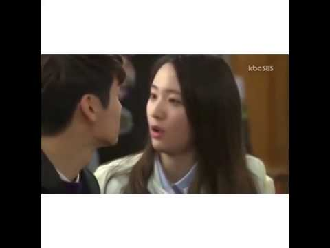 [The Heirs] Lee Bo Na kiss Yoon Chan Young