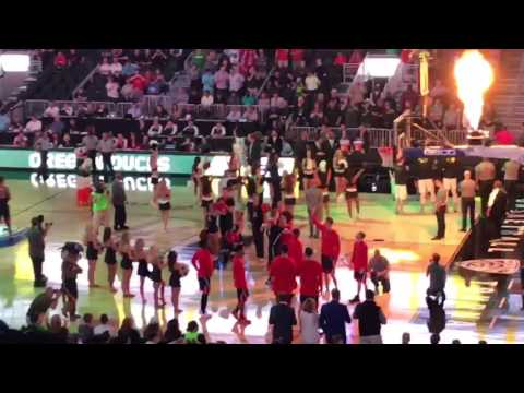 Pac-12 Tournament Championship Intro (Arizona Wildcats vs. Oregon Ducks)