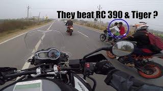 Hyderabad to Srishailam on Triumph tiger 800 with KTM RC 390/jatinsharma vlogs