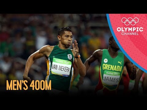 Rio Replay: Men's 400m Sprint Final
