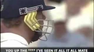 FredFlintoff Sledging Cricket  - with subles
