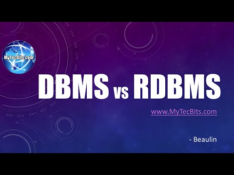 DBMS vs RDBMS. What is DBMS? What is RDBMS? | DB Basics #1