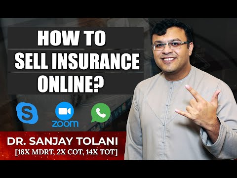 How To Sell Insurance Through Online Appointments? | Financial Planning Book | Dr Sanjay Tolani