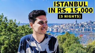 Gambar cover Istanbul in Rs.15,000  | AirBnb, Food, Transport, SIM, Istanbul Pass and more | Turkey Travel Guide