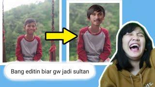 KALIAN JENIUS KALAU BISA TAHAN TAWA WKWKW !!! - Bang Editin Foto