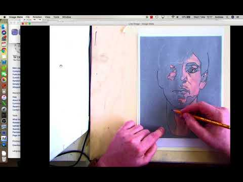 Stanley Spencer visual study tutorial 1 Under Drawing