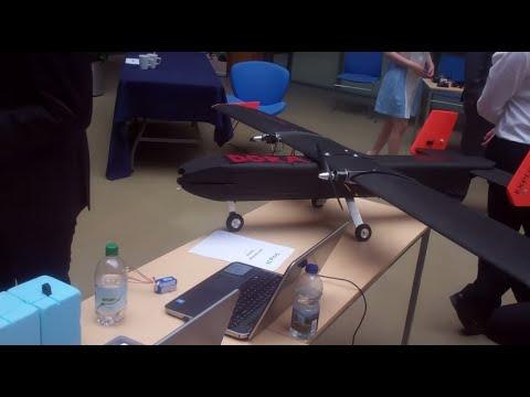 107 - Planes made by students طلاب يصنعون طائرة إستكشاف