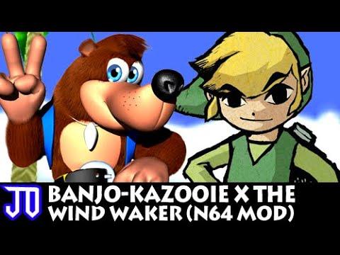 Repeat JO Plays: Banjo-Kazooie x The Wind Waker (N64 Mod) by JO