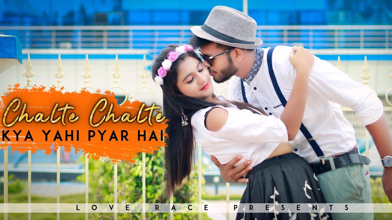Chalte Chalte | Kya Yahi Pyar Hai | Mohabbatein | Romantic Love Story | Shah Rukh Khan | Love Race