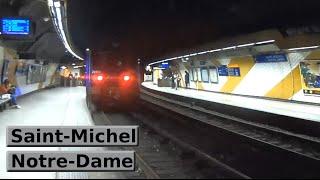 RER Paris: Saint-Michel - Notre-Dame (C) (SNCF Z5600 - Z20500)