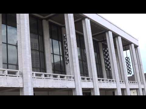 Lincoln Center -- a brief video tour of the area