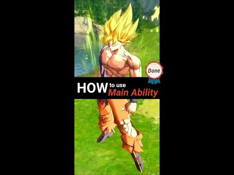 DB Legends - How To Use Main Ability? (Slow Motion)