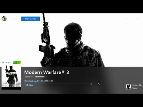 HOW TO DOWNLOAD & PLAY MODERN WARFARE 3 ON XBOX ONE! HOW TO DOWNLOAD MW3 FAST ON XB1