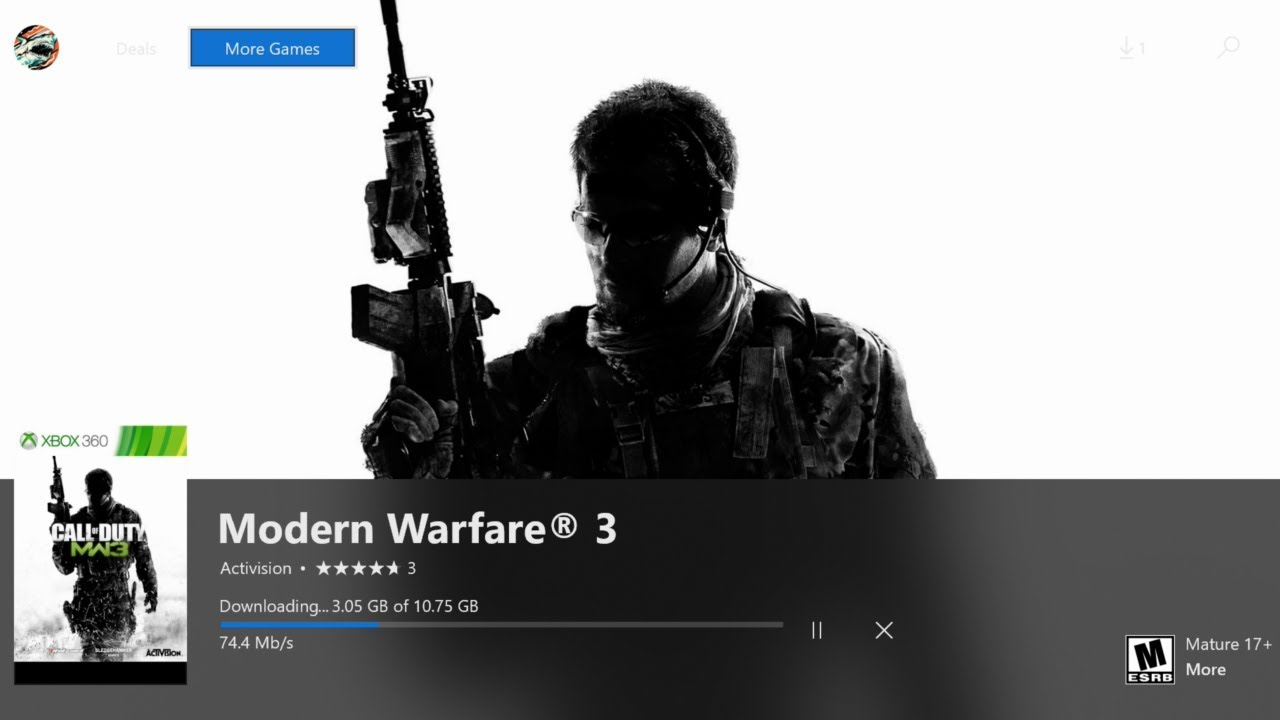 How To Download Play Modern Warfare 3 On Xbox One How To