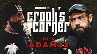 crooked i adam22 talk jcole beef logic being corny xxxtentacion khaled album l crooks corner