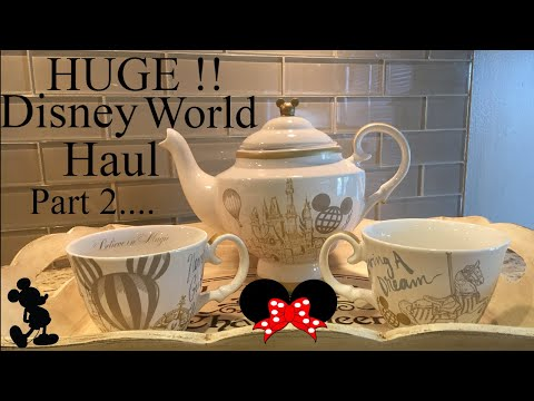 HUGE ! Walt Disney World Haul !!  ** Part 2 ** December Vaca