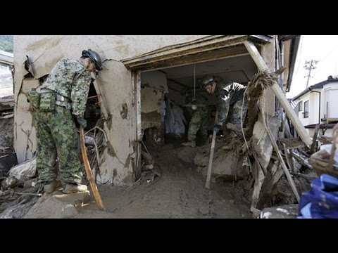 Hiroshima landslide: 'It's a wonder that I survived'