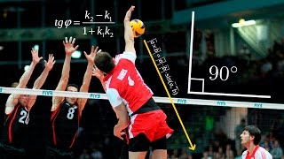 Top 20 Incredible Angle Of Attack | Super Volleyball Spikes | 3rd Meter Spike
