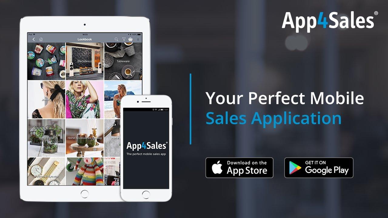 App4Sales - Den mobila säljappen