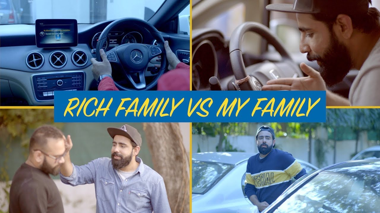Buying A Car : Rich Family vs My Family | RishhSome