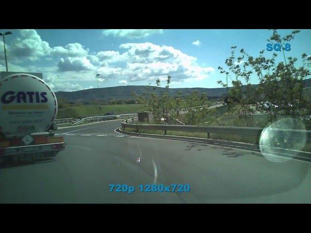 SQ8 Mini DV 1080p Cube Camera  test outdoor