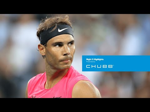 Rafael Nadal Prevails Over Courageous Nick Kyrgios | Australian Open 2020 Day 8