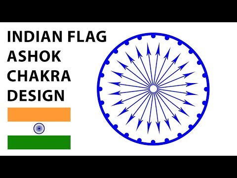 How to Create Ashok Chakra in Photoshop | How to Create Ashok Chakra in Illustrator-#14