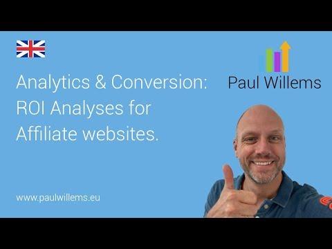 ROI Analyses for Affiliate websites