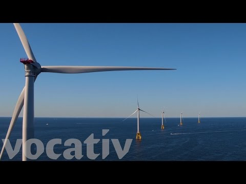 U.S.'s First Offshore Wind Farm Now Running